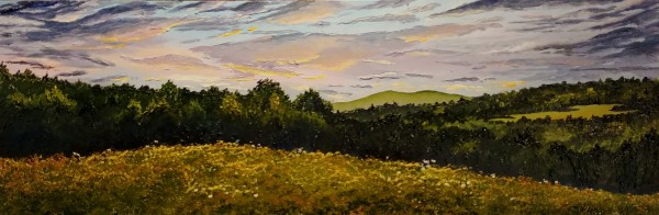 """The Day of Light 12""""x36"""" $700"""