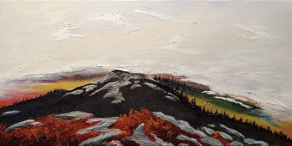 """The Summit"" 10""x20"" $250"