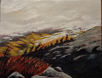 """The Summit II"" 11""x14"" $250"